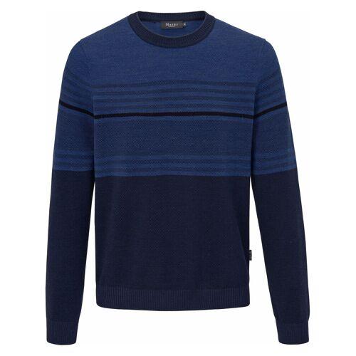 MAERZ Muenchen Pullover aus 100% Schurwolle-Merino MAERZ Muenchen blau