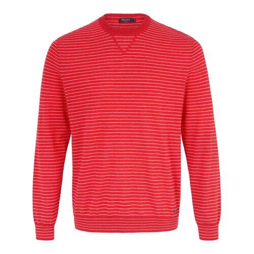 MAERZ Muenchen Rundhals-Pullover MAERZ Muenchen rot
