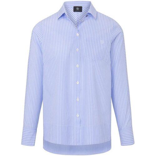 Bogner Bluse Hemdkragen Bogner blau