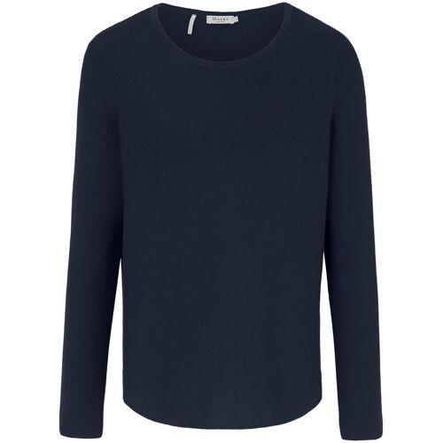 MAERZ Muenchen Rundhals-Pullover MAERZ Muenchen blau