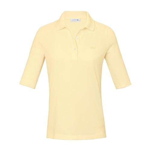 Lacoste Polo-Shirt langem 1/2-Arm Lacoste gelb