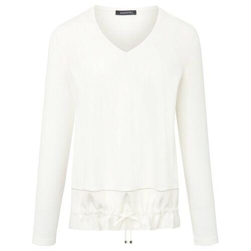 Margittes V-Shirt Margittes weiss