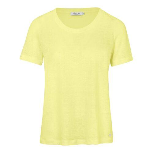 MAERZ Muenchen Rundhals-Shirt MAERZ Muenchen gelb