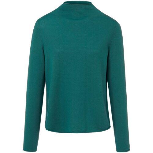 MAERZ Muenchen Stehkragen-Pullover MAERZ Muenchen blau
