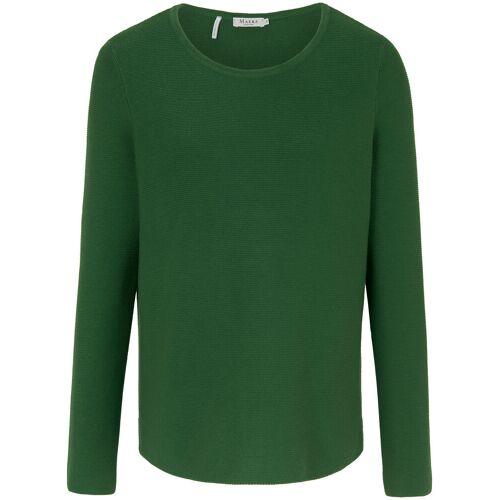 MAERZ Muenchen Rundhals-Pullover MAERZ Muenchen grün