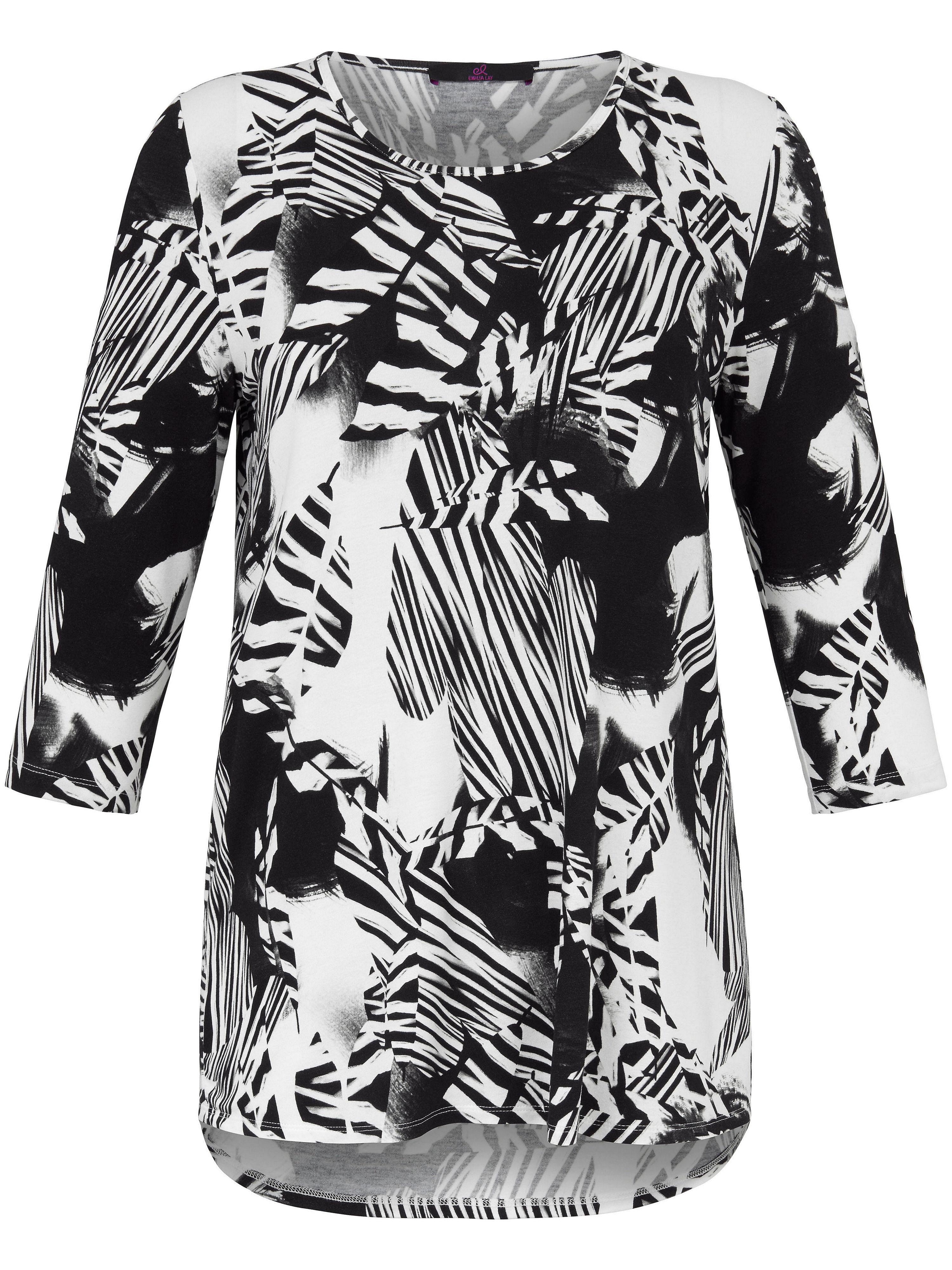 Emilia Lay Rundhals-Shirt 3/4-Arm Emilia Lay mehrfarbig