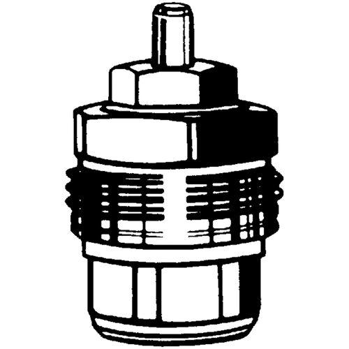 Heimeier Thermostat-Ersatz-Oberteil 2101-02.299 DN 10/15/20, mit Voreinstellung