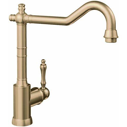 Villeroy und Boch Küchenarmatur Avia 2.0 92400003 11,2 l/min, flexible Anschlussschläuche, Gold