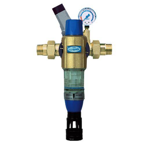 """BWT Aqa Quick Hauswasserstation 10476 Anschluss 11/4"""", Verschraubungen,mit Druckminderer"""