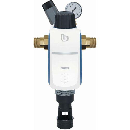 "BWT R1 Hauswasserstation 1 1/4"" 40371 Rückspülfilter mit Druckminderer, inkl. Anschluss"