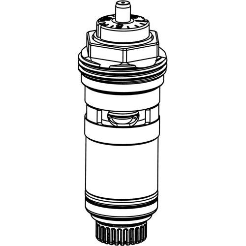 Heimeier Thermostat-Ersatz-Oberteil 3901-02.300 DN 10/15/20, automatischer Durchflussregler
