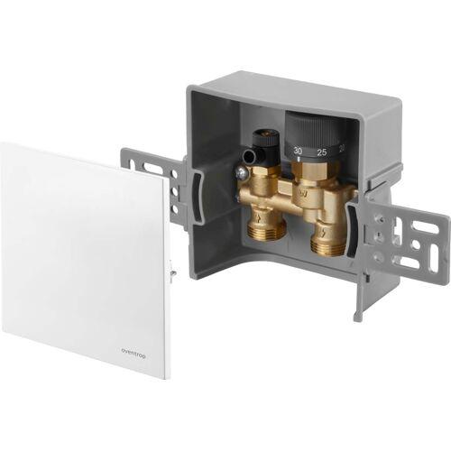 Oventrop Unibox Rücklauftemperaturregelung 1022731 weiß, mit Ventil und Rücklauftemperaturbegrenzer