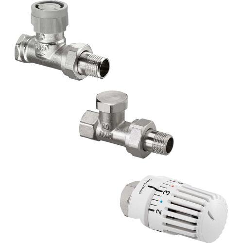Oventrop Uni LH Thermostatventil-Set 1703164 DN 15, Durchgang, mit Thermostat