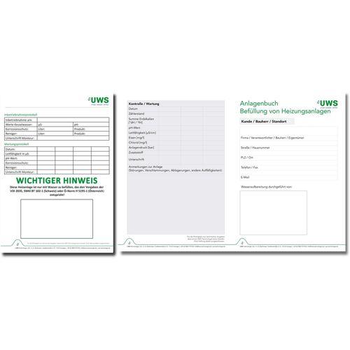 UWS Dokumentations-Set 100091-50 50 Stück