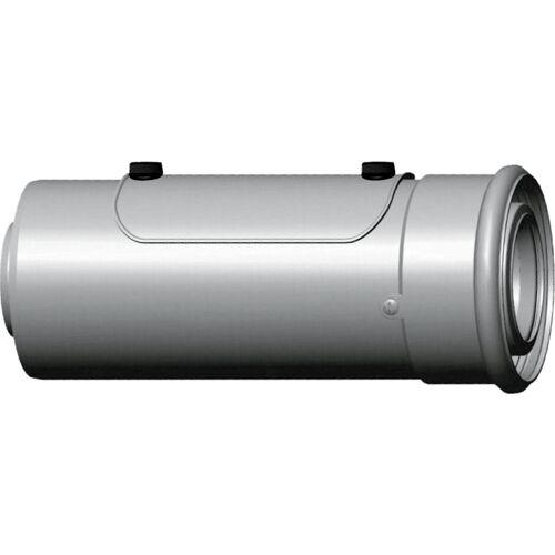 Wolf Cob Luft-/Abgasrohr 2651729 DN 60/100, 250 mm, steckbar, mit Revisionsöffnung, weiß