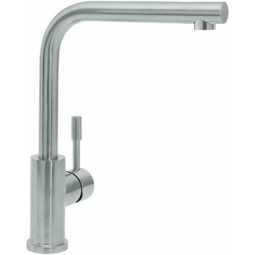 Villeroy und Boch Villeroy & Boch Küchenarmatur 966801LE 14 l/min, flexible Anschlussschläuche, Edelstahl massiv poliert