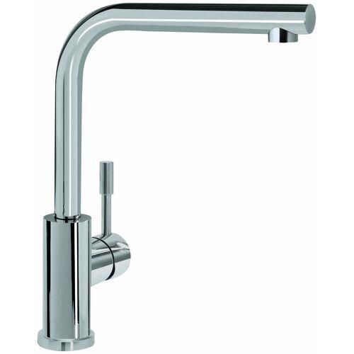Villeroy und Boch Villeroy & Boch Küchenarmatur 966801LC 14 l/min, flexible Anschlussschläuche, Edelstahl massiv