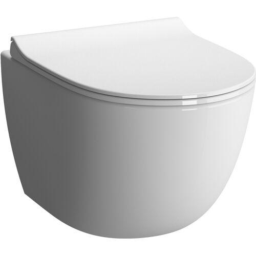 Vitra Sento Wand-Tiefspül-WC 4337B003-0559 36,5x49,5cm, 3/6 l, mit Bidetfunktion, weiß