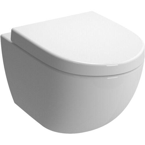 Vitra Sento Wand-Tiefspül-WC 4448B003-0559 36,5x54cm, 3/6 l, mit Bidetfunktion, weiß