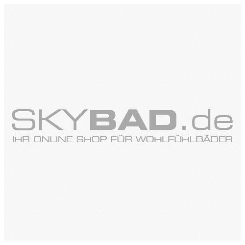 Keuco X-Line Kristallspiegel 33295292500 unbeleuchtet, Inox, 800x700x105mm