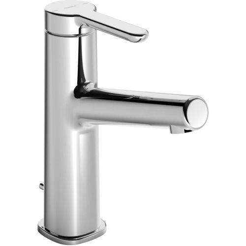 Hansadesigno Waschtischarmatur 51832283 mit Ablaufgarnitur, Ausladung 128 mm, chrom
