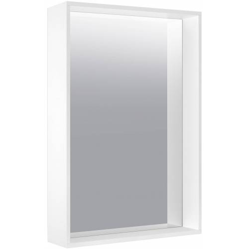 Keuco X-Line Kristallspiegel 33295291000 460x850x105mm, Inox, unbeleuchtet