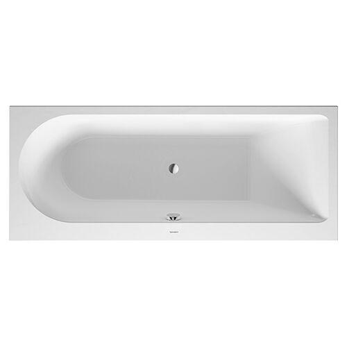 Duravit Rechteck-Badewanne Darling New 700241000000000, Nutzinhalt 135 Liter, weiss