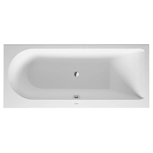 Duravit Rechteck-Badewanne Darling New 700239000000000, Nutzinhalt 120 Liter, weiss