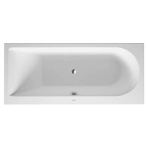 Duravit Rechteck-Badewanne Darling New 700238000000000, Nutzinhalt 120 Liter, weiss