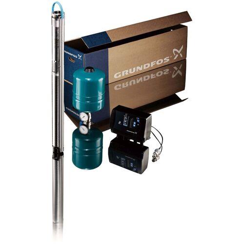 Grundfos Unterwasserpumpe 96524503 mit 40 m Unterwasserkabel 3x 1,5 qmm flach