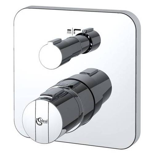 Ideal Standard Wannen Thermostat A5620AA Unterputz Thermostat, CeraTherm 200, chrom