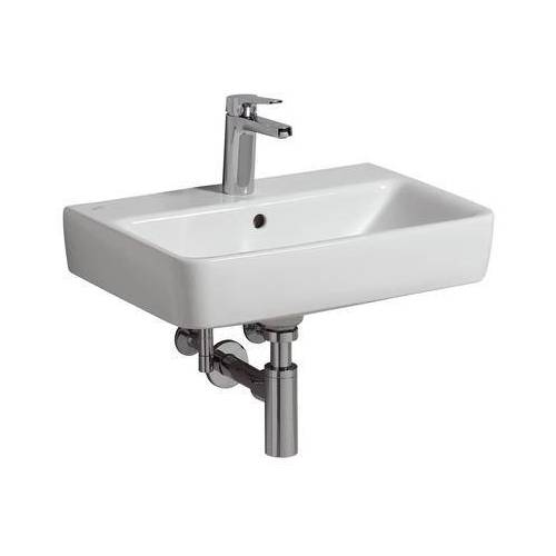 Geberit Waschtisch Renova Comprimo 226160600 weiß KeraTect, 60 x 37 cm