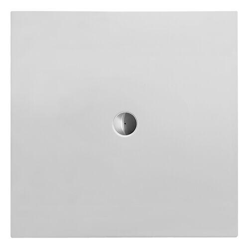 Duravit Quadrat-Duschwanne DuraPlan 120x120x3,5cm, weiß, bodenbündig, Antislip