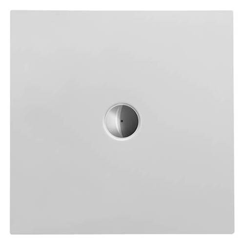 Duravit Quadrat-Duschwanne DuraPlan 80 x 80 x 3,5 cm, weiß, bodenbündig, Antislip