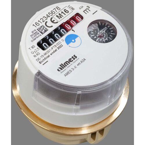 Allmess Austauschwasserzähler 0203112206 3-K +m, Q3 2,5, DN 15, kalt bis 30 °C