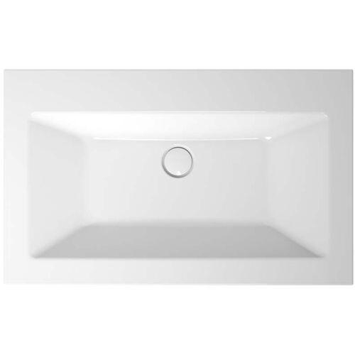 Bette Loft Einbau-Waschtisch A230-001 80x49,5x10cm, pergamon