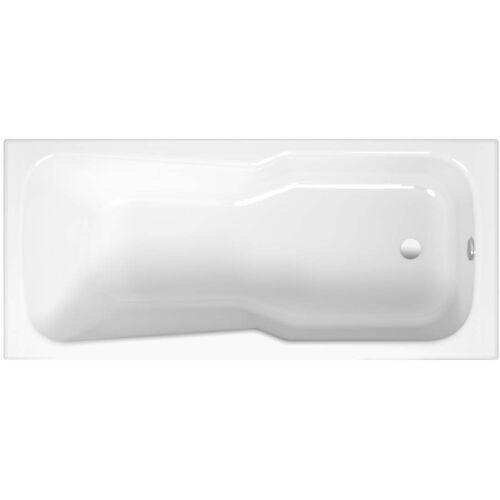 Bette BetteSet Badewanne 3660000 160 x 75 x 38 cm, weiss mit Duschbereich