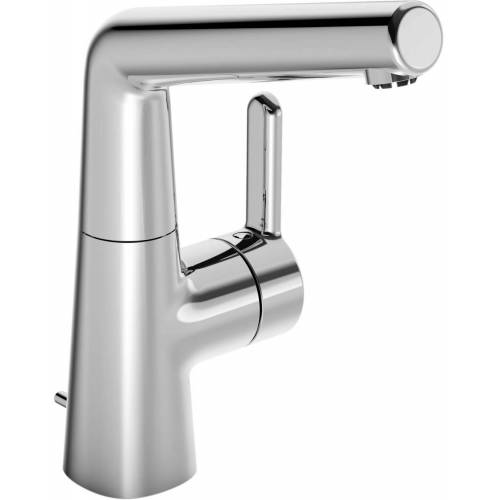 Hansadesigno Waschtischarmatur 51211183 ND, mit Ablaufgarnitur, Ausladung 151 mm, chrom
