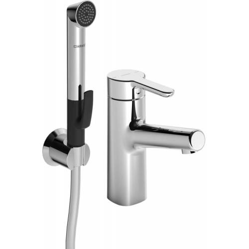 Hansadesigno Waschtischarmatur 51702201 ohne Ablaufgarnitur, Ausladung 119 mm, chrom