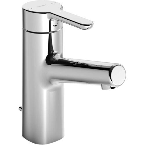 Hansadesigno Waschtischarmatur 51712283 mit Ablaufgarnitur, Ausladung 119 mm, chrom