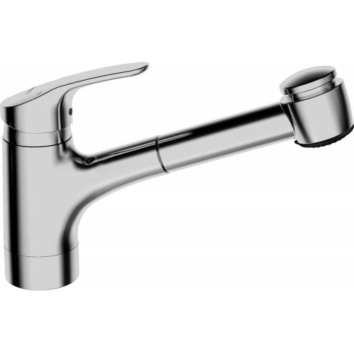 Hansamix Küchenarmatur 01382283 chrom, Ausladung 235 mm