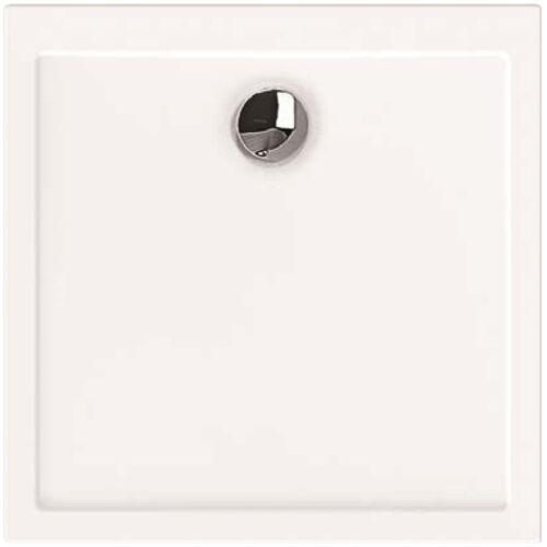 Hoesch Samar Duschwanne 4451.010 80 x 80 x 2,5 cm, weiß, ultraflach