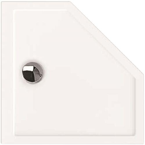 Hoesch Samar 5-Eck-Duschwanne 4461.010 90 x 90 x 2,5 cm, weiß, ultraflach