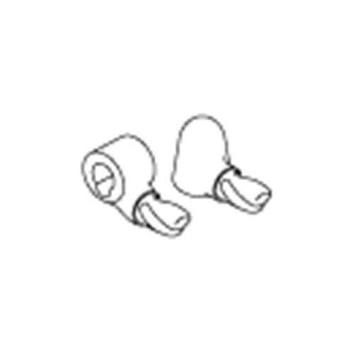 Pressalit Fahnen-Paket A9153 mit Schrauben, grau
