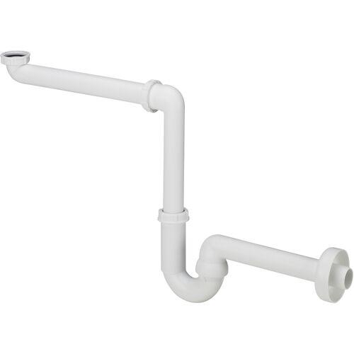 """Viega Röhrengeruchsverschluss - Siphon 11/4"""" x 40 mm, Kunststoff, raumsparend"""