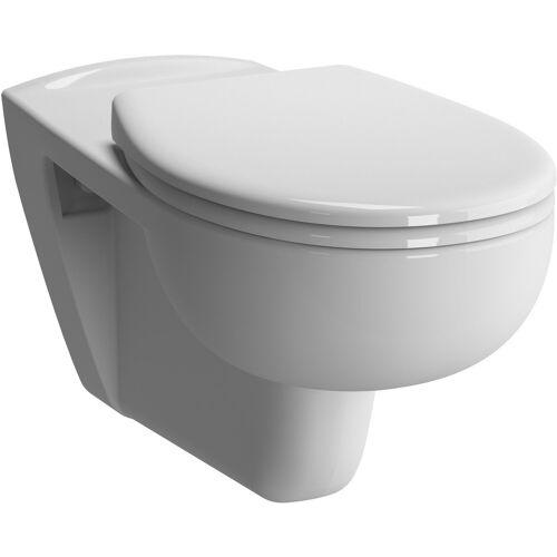 Vitra Conforma Wand-Tiefspül-WC 5810B003-0075 weiß, 35x70cm, Rollstuhlgerecht, verdeckte Befestigung, Sitzhöhe 48cm