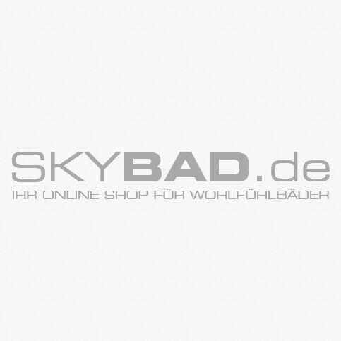 """Opal Kugelhahn R250X010 Messing verchromt, 3"""", Schwermodell, Hebelgriff"""