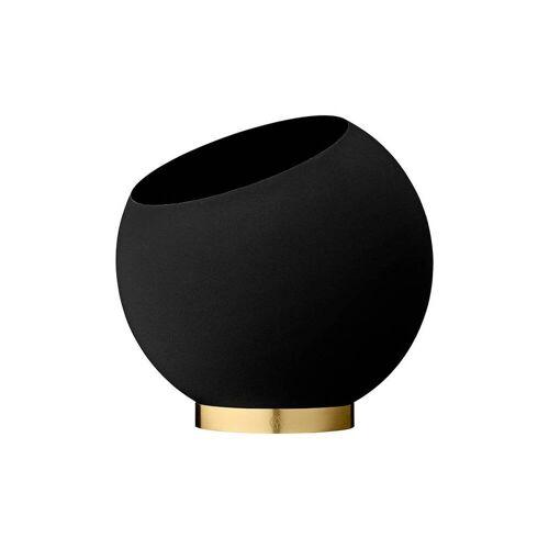 AYTM Globe Blumentopf Ø 30cm / schwarz