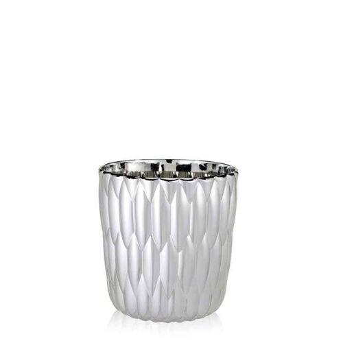 Kartell Jelly Vase chrom metallic