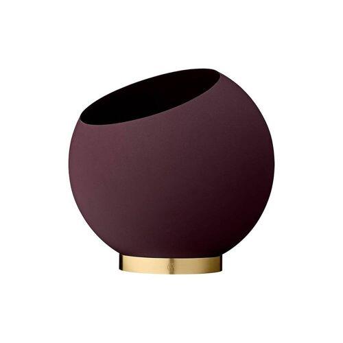 AYTM Globe Blumentopf Ø 30cm / bordeaux